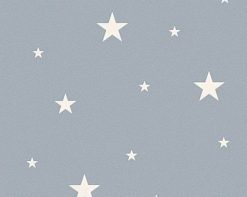 As Creation Glow In The Dark Stars Grey Textured Feature