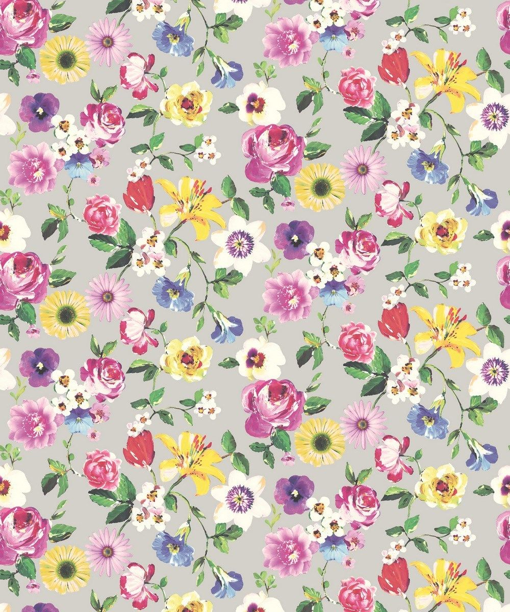 Holden statement rosa grey floral daisy flowers feature wallpaper holden statement rosa grey floral daisy flowers feature wallpaper 98850 mightylinksfo