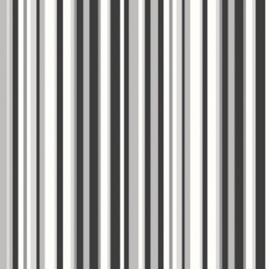 New Trend Black White Grey Silver Barcode Stripe Wallpaper